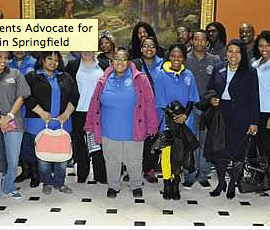 South Suburban College students advocate in Springfield