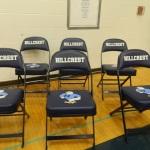 Hillcrest High School chairs