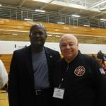 With old friend Master Weiss from Gen Ki Karate School