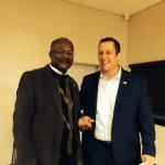 Representative Al Riley and Senator Mike Hastings