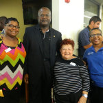 With Trustee Holden, Hope and Trustee Butler