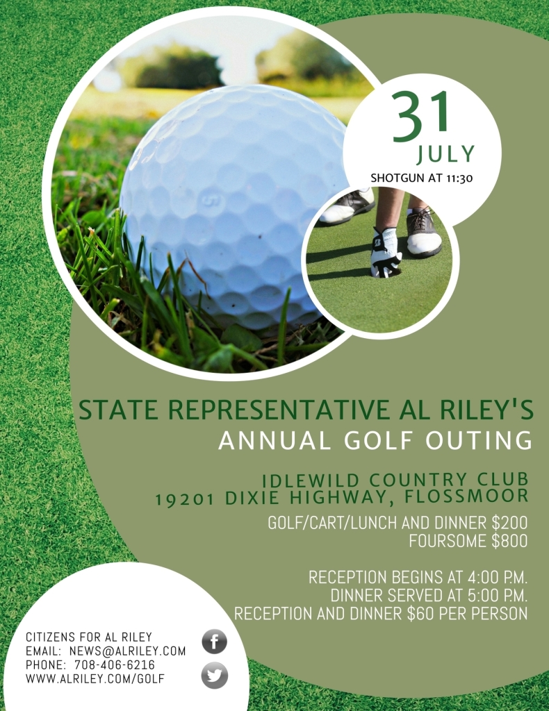 Representative Riley's Annual Golf Outing